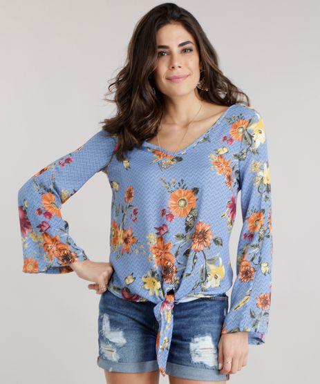 Blusa-Estampada-Floral-com-No-Azul-Claro-8704358-Azul_Claro_1