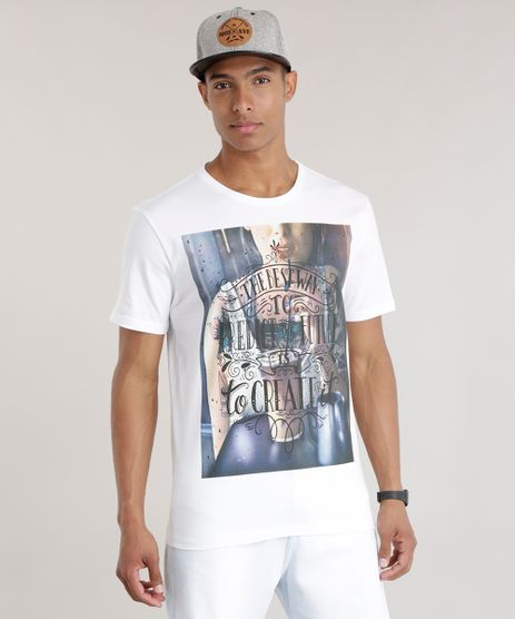 Camiseta--The-Best-Way--Branca-8712626-Branco_1