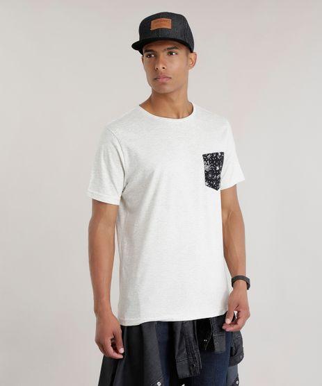 Camiseta-com-Bolso-Estampado-Cinza-Mescla-Claro-8701884-Cinza_Mescla_Claro_1