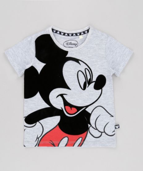 Camiseta-Mickey-Cinza-Mescla-8697950-Cinza_Mescla_1
