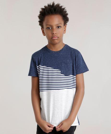 Camiseta-com-Recorte-Listrado-Azul-Marinho-8726197-Azul_Marinho_1