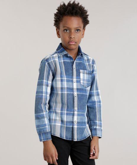 Camisa-Jeans-Xadrez-Azul-Medio-8466688-Azul_Medio_1