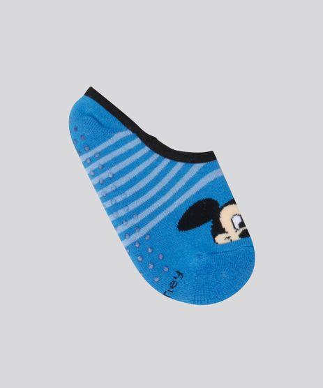 Meia-Sapatilha-Mickey-Azul-8699408-Azul_1