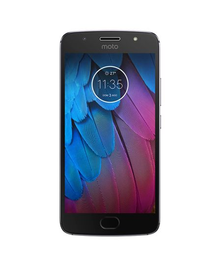 SmartphoSmartphone MotorolaXT1792 Moto G 5S 32GB Open Grafite - Único