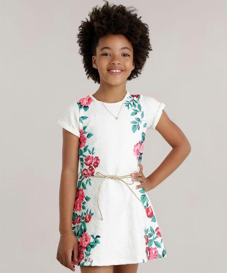 Vestido-com-Estampa-Floral-em-Jacquard-com-Cinto-Off-White-8708614-Off_White_1