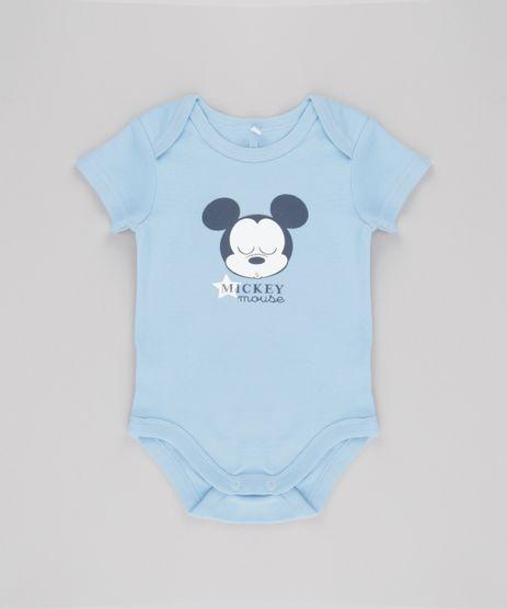 Body-Mickey-em-Algodao---Sustentavel-Azul-Claro-8583165-Azul_Claro_1