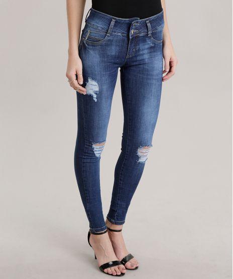 Calca-Jeans-Skinny-Modela-Bumbum-Sawary-Azul-Escuro-8701310-Azul_Escuro_1