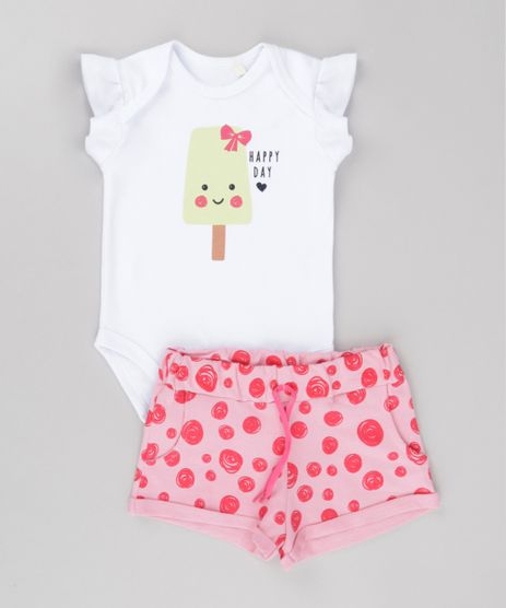 Conjunto-de-Body--Happy-Day--Branco---Short-Estampado-em-Moletom-Rosa-8688960-Rosa_1