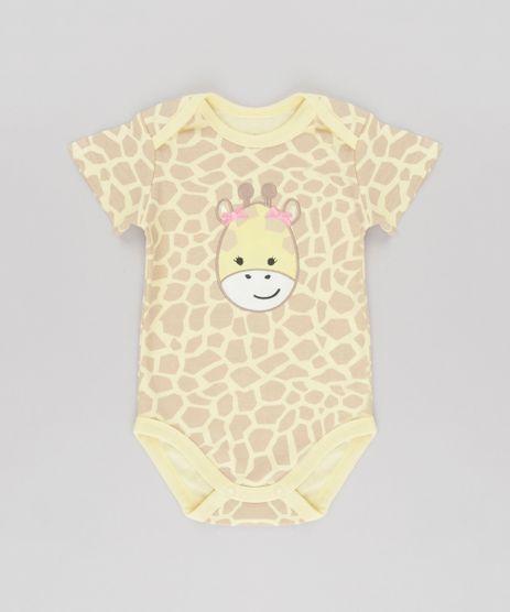 Body-Estampado-Girafa-em-Algodao---Sustentavel-Amarelo-Claro-8580378-Amarelo_Claro_1