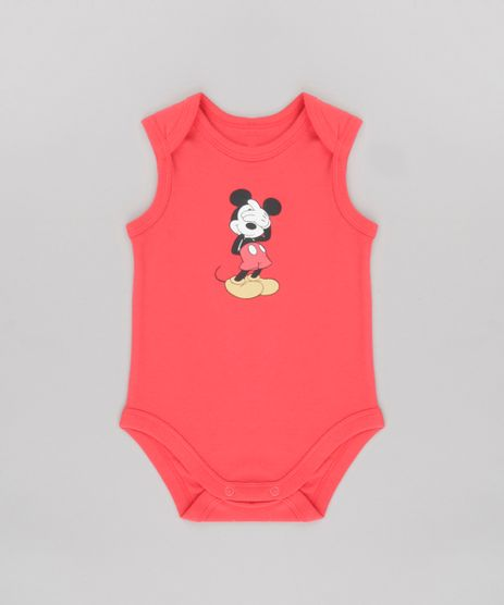 Body-Mickey-em-Algodao---Sustentavel-Vermelho-8646153-Vermelho_1