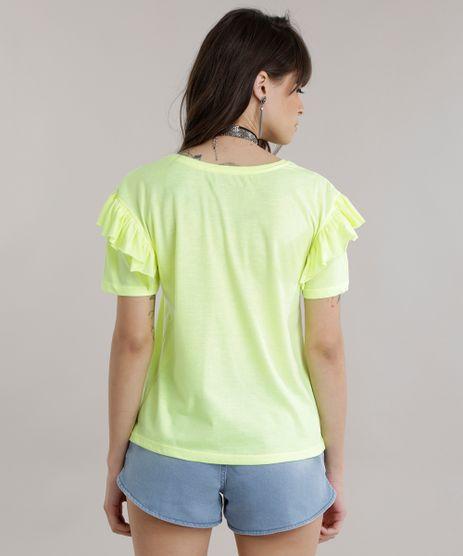 Blusa--Feminist--com-Babados-Amarelo-Neon-8762441-Amarelo_Neon_2