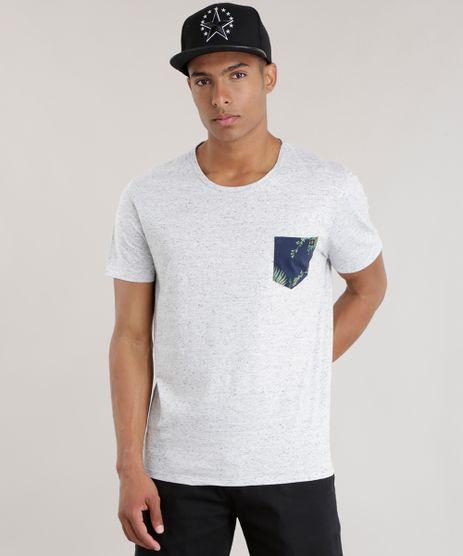 Camiseta-com-Bolso-Estampado-Floral-Cinza-Mescla-Claro-8692562-Cinza_Mescla_Claro_1