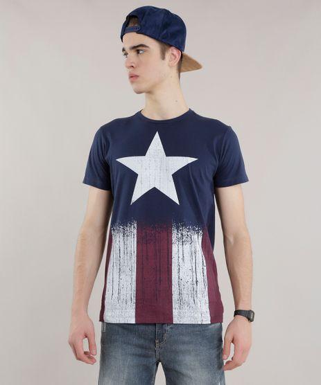 Camiseta-Capitao-America-Azul-Marinho-8335901-Azul_Marinho_1