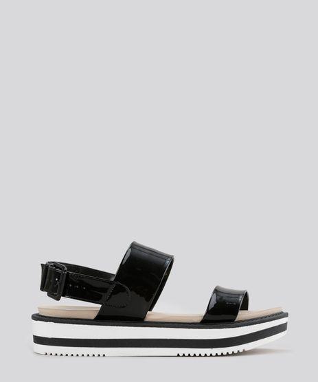 Sandalia-Flatform-em-Verniz-Preta-8621810-Preto_1