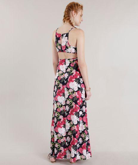 Vestido-Longo-Estampado-Floral--Preto-8700674-Preto_2