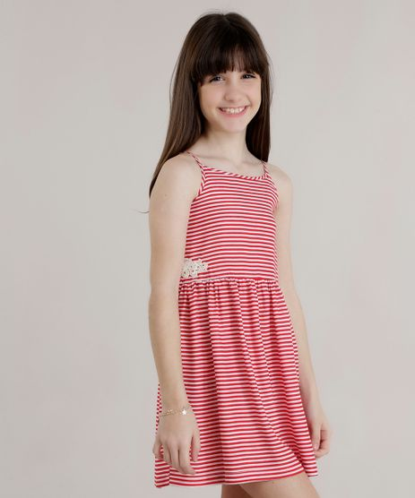 Vestido-Listrado-com-Guipir-Vermelho-8726797-Vermelho_1
