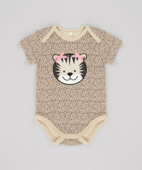 Body-Tigresa-Estampado-Animal-Print-em-Algodao---Sustentavel-Bege-8648493-Bege_1