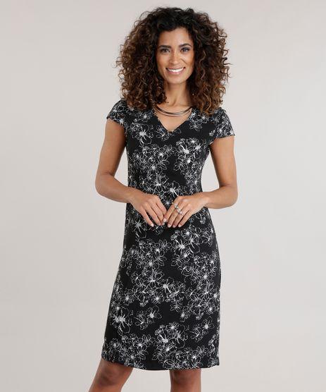 Vestido-Estampado-Floral-Preto-8644149-Preto_1