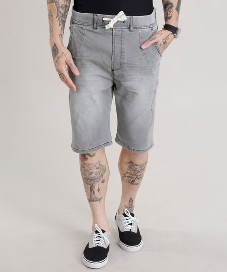 Bermuda-Jeans-Relaxed-Cinza-8726751-Cinza_1