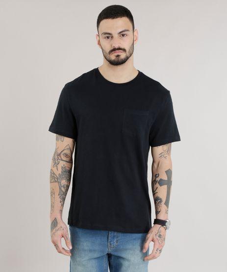 Camiseta-Basica-em-Algodao---Sustentavel-Preta-8618283-Preto_1