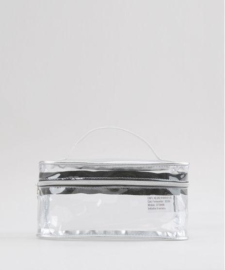 Necessaire-Transparente-Metalizada-Prateada-8739686-Prateada_1