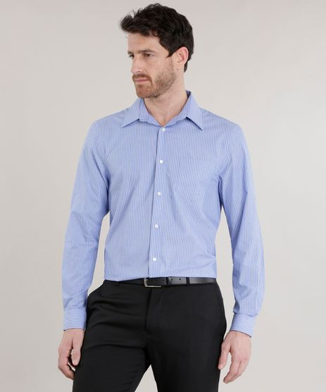 Camisa-Comfort-Listrada-Azul-8582362-Azul_1