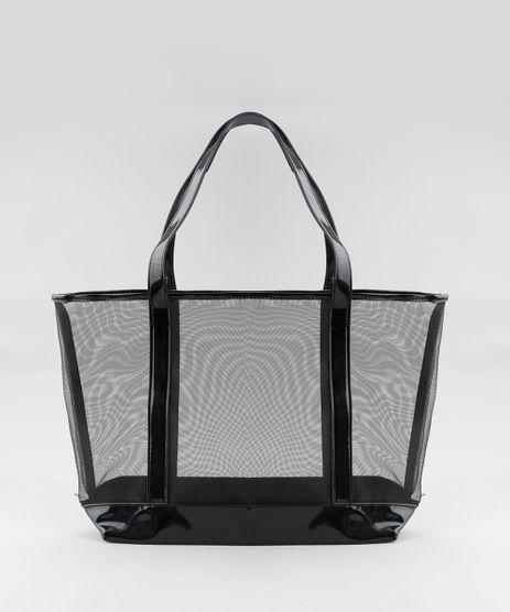 Bolsa-Shopper-em-Tela---Necessaire-Preta-8654818-Preto_1