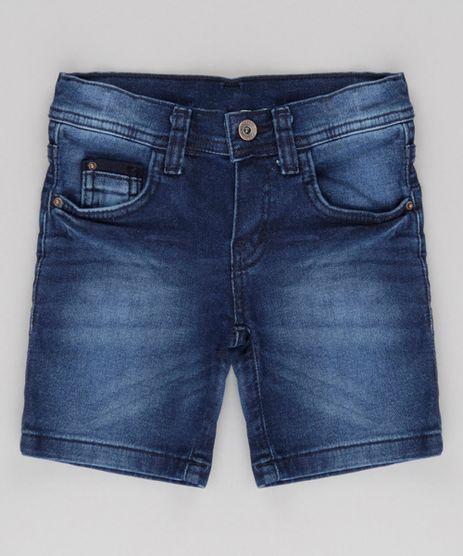 Bermuda-Jeans-Slim-com-Estampa-Azul-Escuro-8720572-Azul_Escuro_1