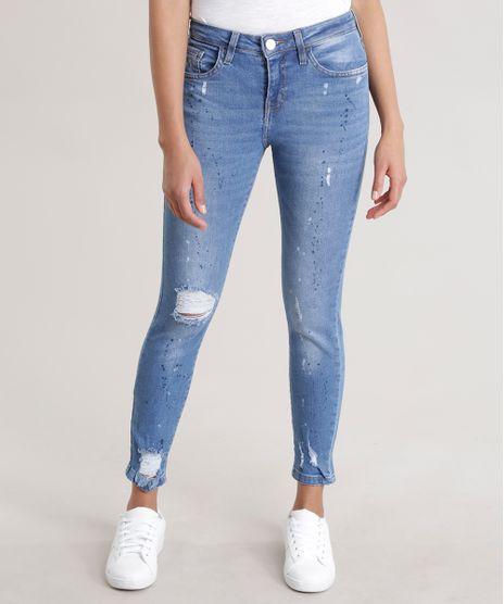 Calca-Jeans-Skinny-com-Respingos-Azul-Medio-8722761-Azul_Medio_1