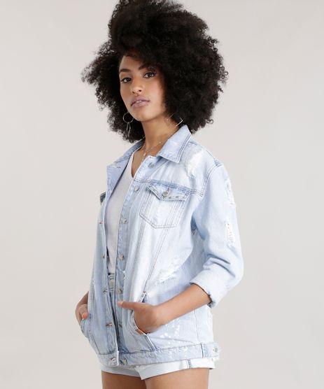 Jaqueta-Jeans-Oversized-Destroyed-com-Tachas-Azul-Claro-8710826-Azul_Claro_1