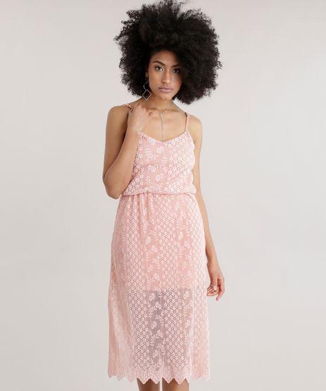Vestido-Midi-em-Renda-Plissada-Rose-8715755-Rose_1