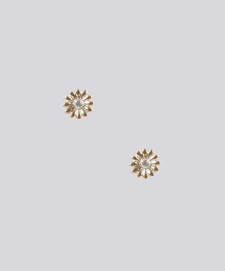 Brinco-Flor-com-Strass-Dourado-8688881-Dourado_1