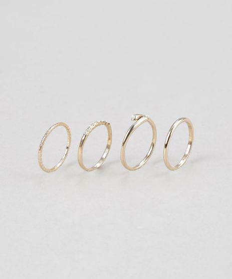 Kit-de-4-Aneis-Dourado-8688861-Dourado_1