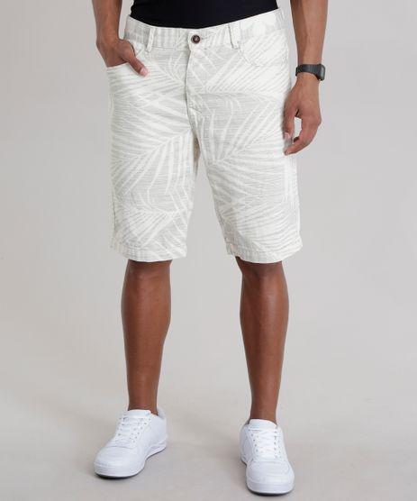 Bermuda-Reta-Estampada-de-Folhagem-Off-White-8735678-Off_White_1
