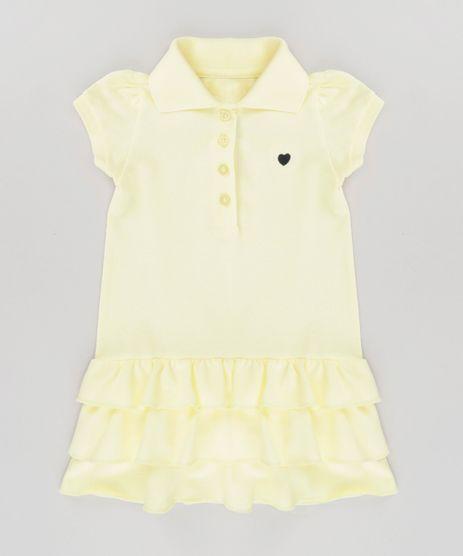 Vestido-Polo-em-Piquet-com-Babados-Amarelo-Claro-8683706-Amarelo_Claro_1