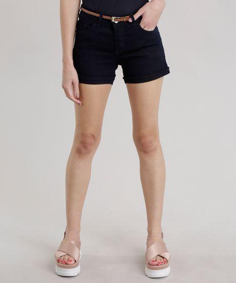 Short-Jeans-Reto-com-Cinto-Azul-Escuro-8707462-Azul_Escuro_1