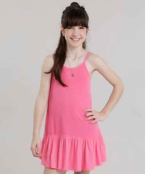 Vestido-Canelado-com-Tule-Rosa-8723498-Rosa_1