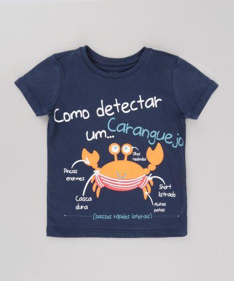Camiseta--Como-Detectar-um-Caranguejo--Azul-Marinho-8720092-Azul_Marinho_1