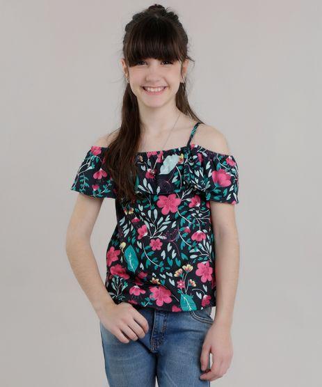Blusa-Open-Shoulder-Estampada-Floral-com-Babado-Azul-Marinho-8729132-Azul_Marinho_1