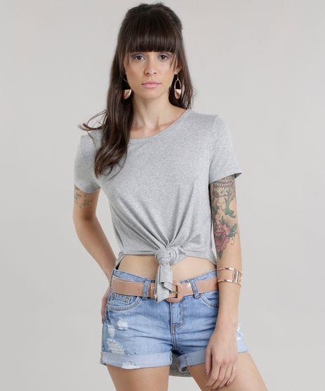 Blusa-Longa-com-Fendas-Cinza-Mescla-Claro-8773272-Cinza_Mescla_Claro_1
