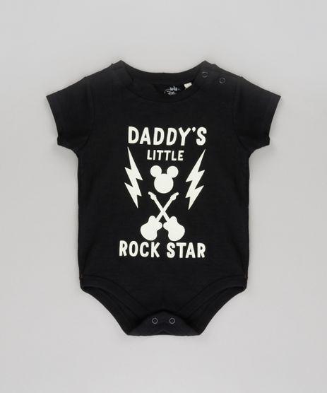 Body-Mickey--Daddy-s-Little-Rock-Star--Preto-8661674-Preto_1