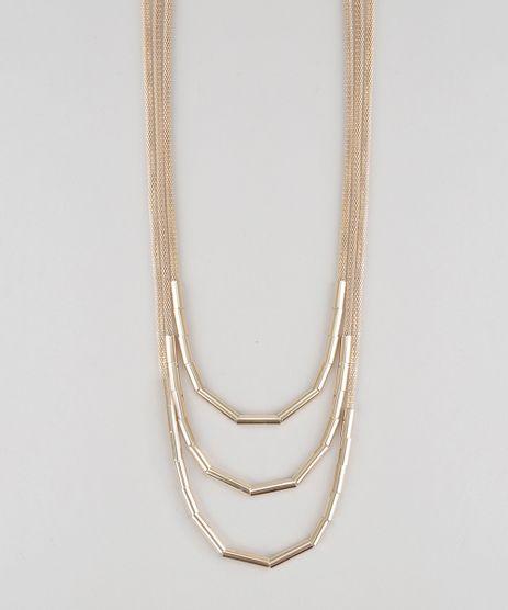 Colar-Triplo-Dourado-8631329-Dourado_1