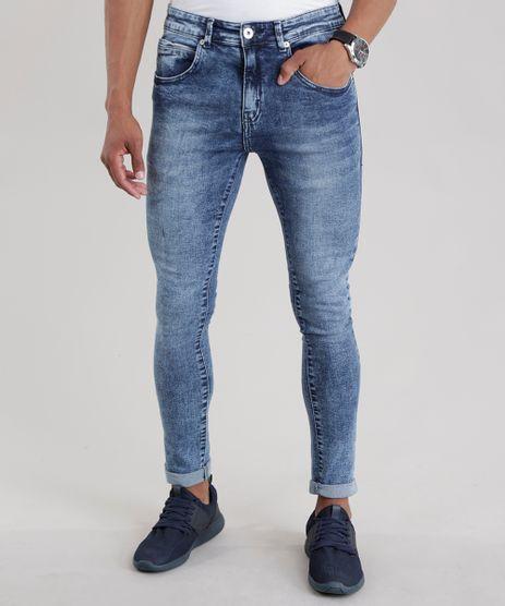 Calca-Jeans-Super-Skinny-Marmorizada-Azul-Medio-8680756-Azul_Medio_1