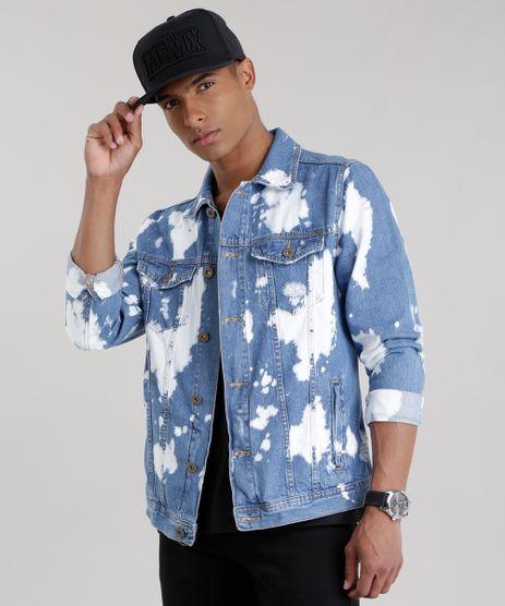 Jaqueta-Jeans-Trucker-com-Respingos-Azul-Medio-8756344-Azul_Medio_1