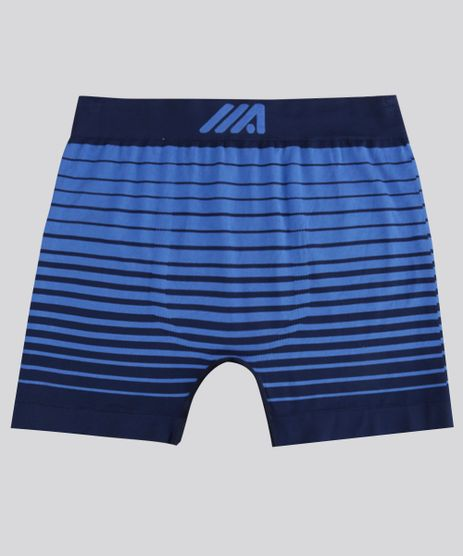 Cueca-Boxer-Ace-Listrada-Sem-Costura-Azul-Royal-8404165-Azul_Royal_1