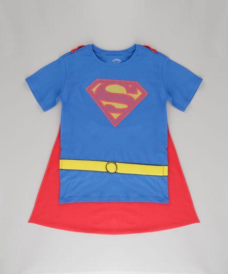 Camiseta-Super-Homem-com-Capa-Azul-8724513-Azul_1