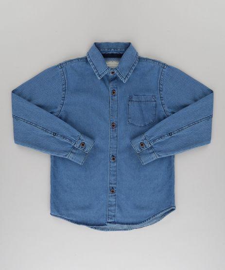 Camisa-Jeans-Listrada-Azul-Medio-8728900-Azul_Medio_1