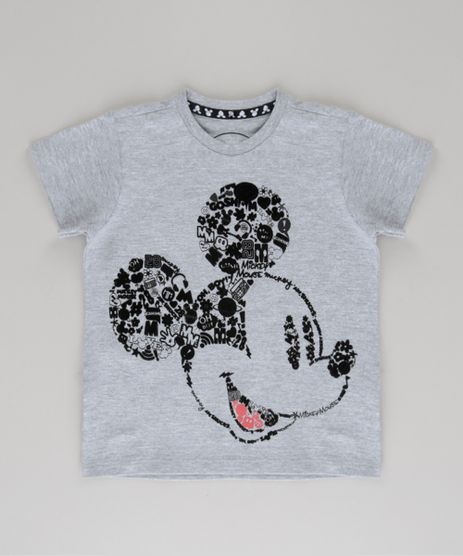 Camiseta-Mickey-Cinza-Mescla-8735663-Cinza_Mescla_1