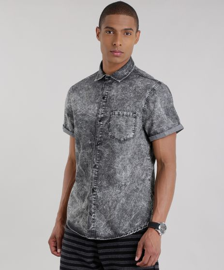 Camisa-Jeans-Marmorizada-Preta-8708014-Preto_1