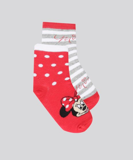 Kit-de-2-Meias-Minnie-Multicor-8699996-Multicor_1